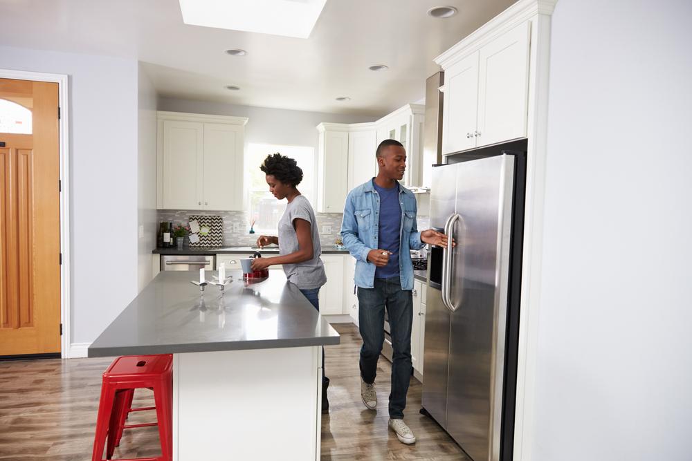 frigo américain connectée